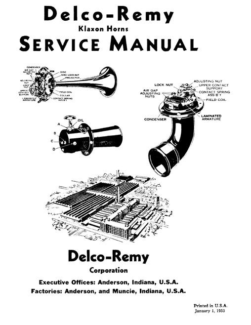 delco remy division service manuals rh delcoremyhistory com Delco Remy Alternator Diagram Delco Remy Alternator Diagram